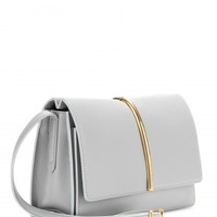nina ricci - arc medium leather shoulder bag