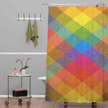 Nick Nelson Hysteria En La Primavera Shower Curtain