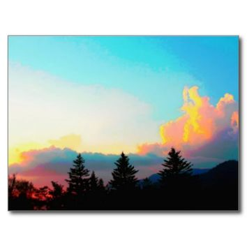 The Smoky Mountains Sunset