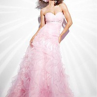 Buy discount Gorgeous Organza Princess Sweetheart Neckline Prom  Dress at dressilyme.com