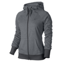 Nike All Time Full-Zip Women's Training Hoodie - Anthracite