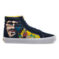 Vans The Beatles Sk8-Hi Reissue (faces dress blues)