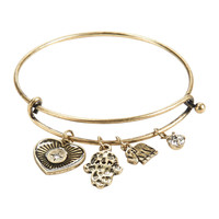 Strength Charm Bangle