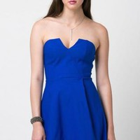 Tube Dress - Royal Blue