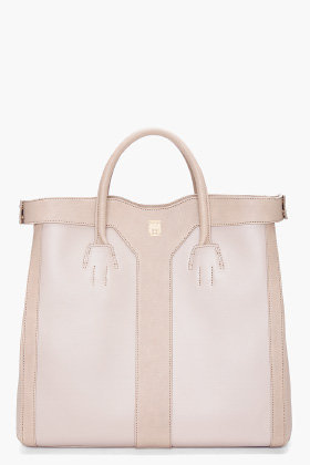 Yves Saint Laurent Grey Double Y Tote for women | SSENSE
