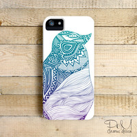 Duotone Penguin -  iPhone 5/5c case, iPhone 4/4s case, Samsung Galaxy S3/S4