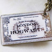 Harry Potter Hogwarts Express Train Ticket by sweethearteverybody