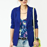 Beach Club Blazer - Cobalt in  Sale at Nasty Gal