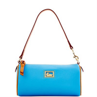 Dooney & Bourke Dillen2 Trim Mini Barrel, Aegean Blue