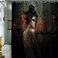 DENY Designs Home Accessories | Deniz Ercelebi Dawn In Autumn Shower Curtain