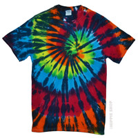 Rainbow Stained Glass Tie Dye T Shirt on Sale for $16.95 at HippieShop.com