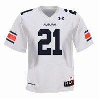Under Armour Auburn Tigers #21 College Replica Football Jersey - White