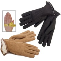 Sheepskin Gloves - Slinkskin Suede Gloves for Women - New Zealand Nature