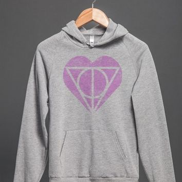 Deathly Hallows Heart Hoodie