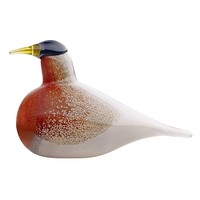 Iittala Toikka American Robin Glass Bird - Pop! Gift Boutique