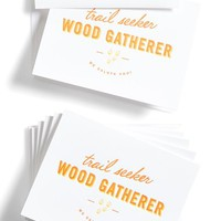 Sideshow Press Letterpress Greeting Cards (Set of 6)