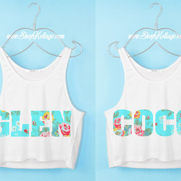Glen Coco Bff Crop Tank Top