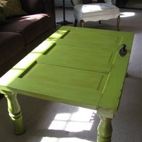 Coffee Tables And Old Doors?. | Fabulously Finished