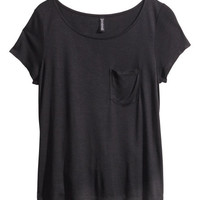 Jersey Top - from H&M