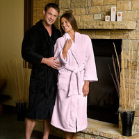 MINX Plush Bathrobes for Men & Women