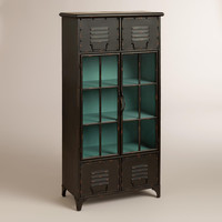 Kiley Metal Locker Cabinet - World Market