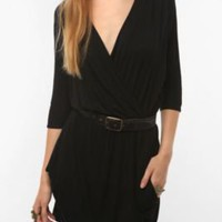 Urban Renewal Surplice Drape Dress