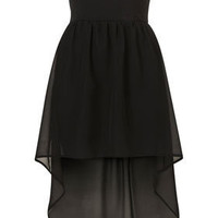 **Bandeau Chiffon Dip Hem Dress by Oh My Love - Dresses - Clothing - Topshop