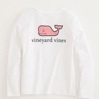 Girls Long-Sleeve Logo Tee