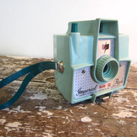 Mint Green Imperial Mark XII Flash Camera by VintageShoppingSpree