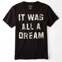 AEO 's Dream Graphic T-shirt (Bold Black)