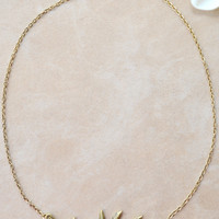 Grecian Leaf Necklace | Shop Civilized