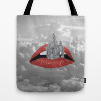 Some Nights Tote Bag by Half Moon Industries