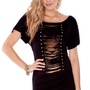 Camilla Studded Dress in Black :: tobi