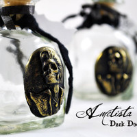 Dark Home Decor Dia de los Elvis Apothecary Hand by Ametista