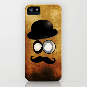 Mustache man iPhone & iPod Case by tjc555 | Society6