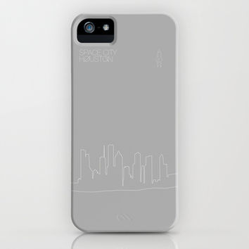 Space City iPhone & iPod Case by Half Moon Industries