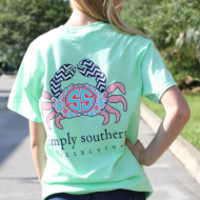 Simply Southern Tee - Crab
