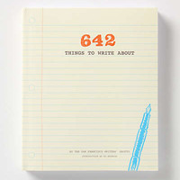 642 Things To Write About by Anthropologie Yellow One Size Gifts