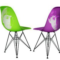 Retro To Go: The Beatles Colour Chairs