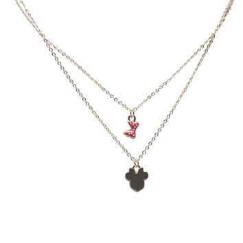 Minnie Mouse™ Charm Necklace | Wet Seal