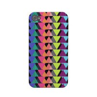 Multicolor Geometric Pattern 2 Iphone 4 Case-mate Case from Zazzle.com