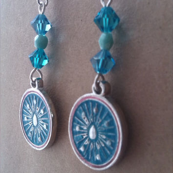 Boho Enamel Festival Earrings