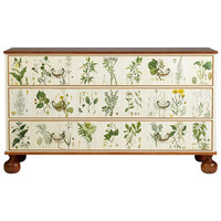 Flora, Chest of Drawers designed by Josef Frank for Svenskt Tenn, Sweden