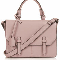 Medium Clean Satchel - Dusty Pink