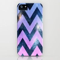 Chevron in the rain cell phone design, pattern, pink, blue iPhone & iPod Case by tjc555 | Society6