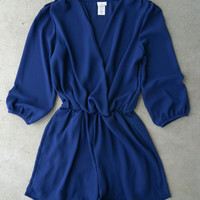 Coronado Romper in Navy [5591] - $33.60 : Vintage Inspired Clothing & Affordable Dresses, deloom | Modern. Vintage. Crafted.