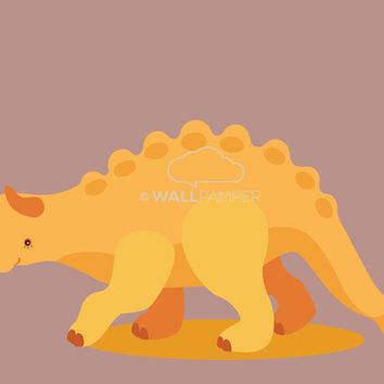 Set of 4 Dinosaurs Art Print, Dinosaur Wall Art, Boy's Gift, Kids Decor, Dino Digital Illustration, Nursery Prehistoric Theme, T-rex picture