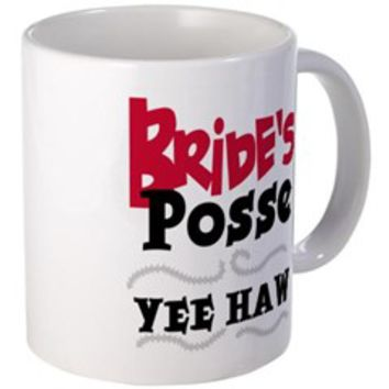 Bride's Posse Bachelorette Mug> Bride's Posse 12 and 13 Bachelorette Tshirts and G> Wedding, Bride, Groom, Future Bride, Newlywed