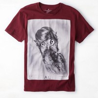 AEO Men's Owl Graphic T-shirt (Winberry)