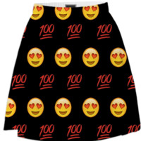 Emoji Skirt created by trilogy-anonymous | Print All Over Me